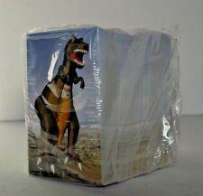 Vtg Sinclair Gasoline Oil Dealer Dinosaur Balloon Statistic Cards 100's stack
