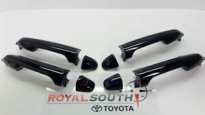 Toyota Tacoma Double Cab 20-21 Black 218 Door Handles w/Smart Entry