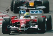 Ralf Schumacher Hand Signed Panasonic Toyota F1 12x8 Photo 2.