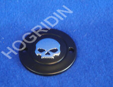 g Harley points timer cover skull sportster xl 883 1200 softail dyna fxr willie