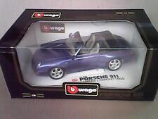 PORSCHE CARRERA 1994 CABRIOLET BBURAGO 1-18 free shipping