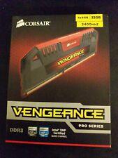 Corsair 32 GB DIMM 2400 MHz PC3-19200 DDR3 RAM Memory (CMY32GX3M4A2400C11R)