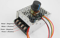 DC Speed Control Power Supply Motor Speed Regulator Input 220v output 220v 15a