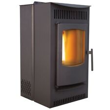 New Castle Stove Serenity 12327 Stove Wood Pellet, Black