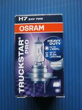 1x H7 OSRAM TRUCKSTAR PRO 24V/70W Stoßfest ( PX26d) LKW,Busse,Trac #64215TSP
