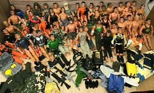 Hasbro Action Man joblot/Bundle with accessories, clothes