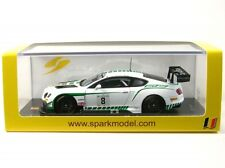 1/43 Spark SB108 Bentley CONTINENTAL Gt3 24hrs Spa 2015 #8