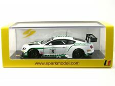 Bentley Continental GT3 N°8 Spa 2015 (m. Buhk - m. Soulet - A. Soucek)