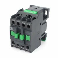 AC Contactor Motor Starter Relay 3-Phase Pole 1NO 110V Coil Voltage LC1E-1210