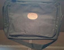 Cotton Traders Black laptop business bag satchel arm strap zip pockets *