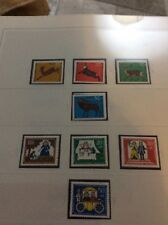 Berlin 1966. 2 sets of unmounted mint stamps stags & the frog prince