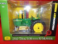 John Deere Precision Key Series #9 Model 2510 w/50 Mower 1/16 scale 45177