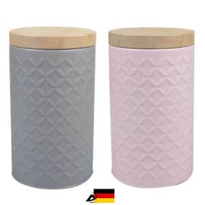 Vorratsgefäß Vorratsdose Vorratsbehälter Kaffeedose Teedose Paddose Gebäckdose