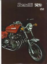 Benelli 750 Sei Prospekt brochure