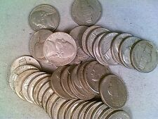 Average Circulated Roll of 1939-S Jefferson Nickels