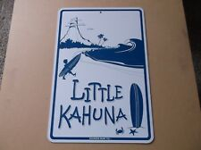 LITTLE KAHUNA Surf Sign,Seaweed Surf Co.