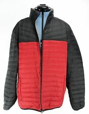 Womens Nautica Reversible Down Puffer Jacket Large