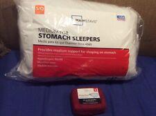 Mainstays Standard Queen Medium For Stomach Sleepers Pillow + Case