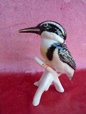 belle figurine en porcelaine oiseau de glaces ens (Thuringe, allemagne)___