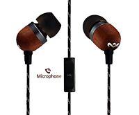 House of Marley Smile Jamaica EM-JE041-SB In-Earphones Headphones with Mic 701