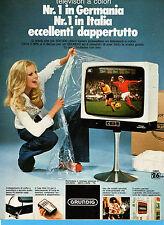 (AM) EPOCA976-PUBBLICITA'/ADVERTISING-1976- GRUNDIG COLORE 26 POLLICI (vers. B)