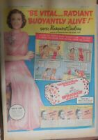 Wonder Bread Ad: Hollywood Star Margaret Lindsay from 1937 Size: 15 x 22 Inches