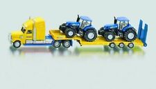 SIKU Truck With 2 Holland Tractors Si1805