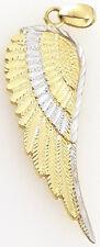 585 Engelsflügel 2,05 anhänger massiv 14k Gelbgold Weißgold engel flügel schmuck