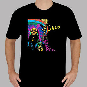 New Jaco Pastorius Jazz Men's Black T-Shirt Size S to 3XL
