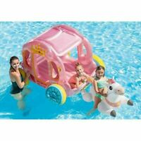 Inflatable Princess Ride On Carriage & Horse Indoor Outdoor Swimming Pool