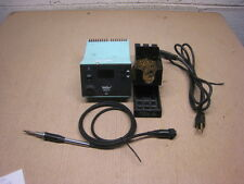 Used Weller WSD 81 WSD81 Soldering Station W/ Stand, Plug and soldering iron