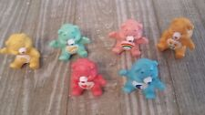 SET OF 6 CARE BEARS CAKE TOPPERS CRAFTS  NEW