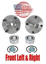 Front Left & Right Wheel Hub and Bearings Repair Kit for Ford Focus 2000-2011