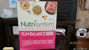 Nutrisystem Body Select Slim Balance 5-Day Weight Loss Kit 04/21 + most dates lo
