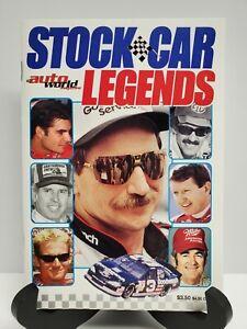 NASCAR Auto World/Stock Car Legends Magazine Dale Earnhardt Jeff Gordon Dale Jr