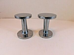 """Espresso/Coffee Barista Tampers 51mm(2""""),58mm(2 1/4"""") dual sided. Set of two."""
