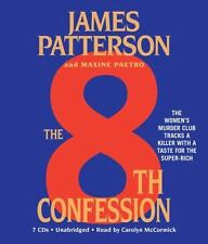 The 8th Confession by James Patterson and Maxine Paetro (2010, CD, Abridged)