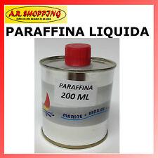 PARAFFINA LIQUIDA 200 ml. PER GELCOAT NAUTICA IMBARCAZIONI SURF GEL COAT BARCHE