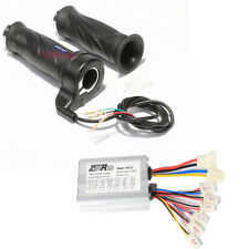 48V 1000W Motor Brush Speed Controller + Throttle Grip fo Electric Bike Scooter