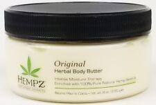 Supre Hempz Original Herbal BODY BUTTER Intense Moisture Therapy 8oz