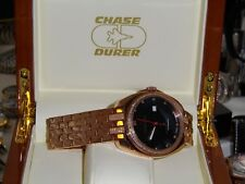 "CHASE DURER SWISS MADE W/AUTOMATIC LIMITED EDIT ""YES WATCH # ONE"" DON'T MISS OUT"