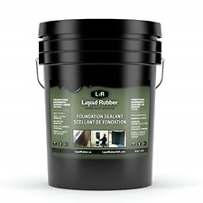 Liquid Rubber Foundation And Basement Sealant Indoor Amp Outdoor Use Easy T