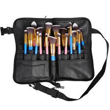 Professional 28 Pockets Cosmetic Bag Makeup Brush Bag Artist Apron Belt Strap