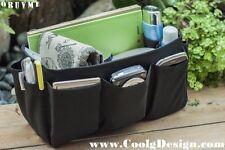 Handbag Organizer Insert extra sturdy Solid Black Medium Ready to ship