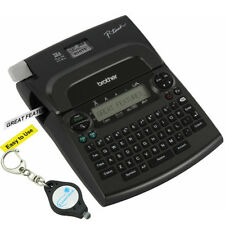 Brother P-touch PT-1890w Thermal Machine Label Printer Maker 2 Tapes + Keychain