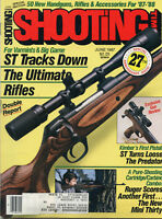 SHOOTING TIMES Magazine June 1987 ST Tracks Down the Ultimate Rifles