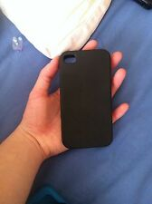 silicone iphone 4 case Black