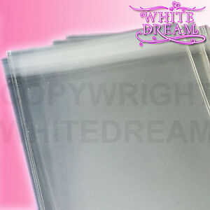 Clear Cellophane Card Bags | Cello Display Bag for Greeting Cards | Free UK Post