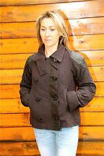 chaqueta de terciopelo y cuero marina HIGH USE talla 38 NUEVO CON ETIQUETA valor