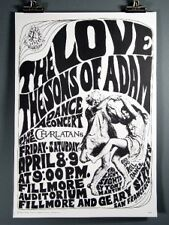 Love, Sons of Adam, The Charlatans, Vintage Poster